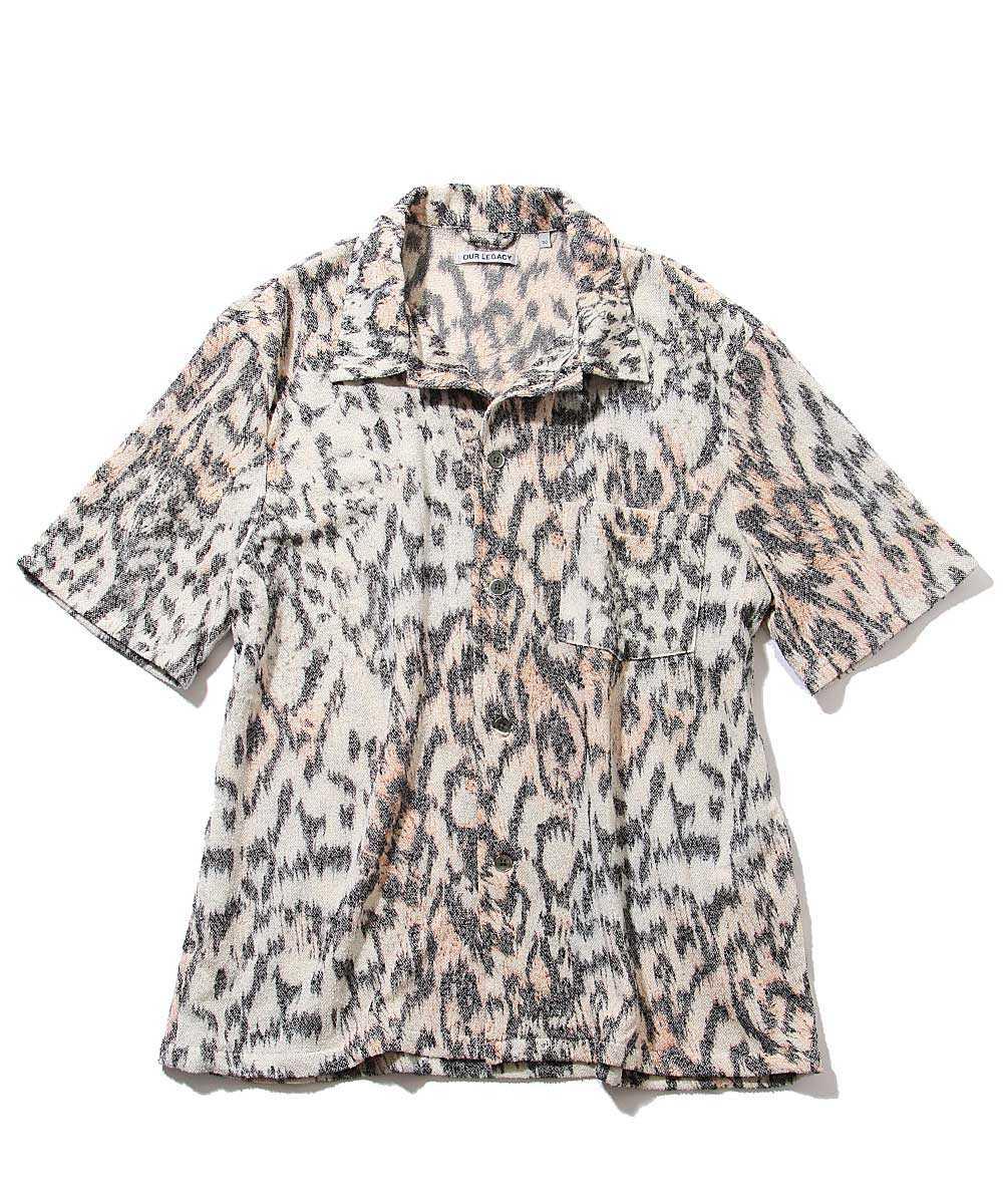 タイガー柄パイルシャツ