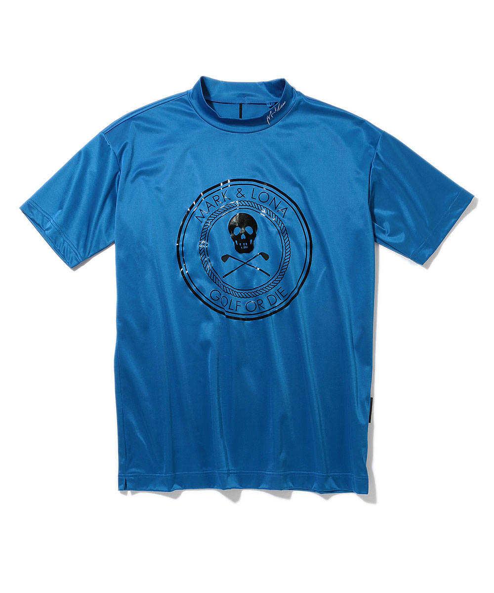 """Sputter""ロゴモックネックTシャツ"