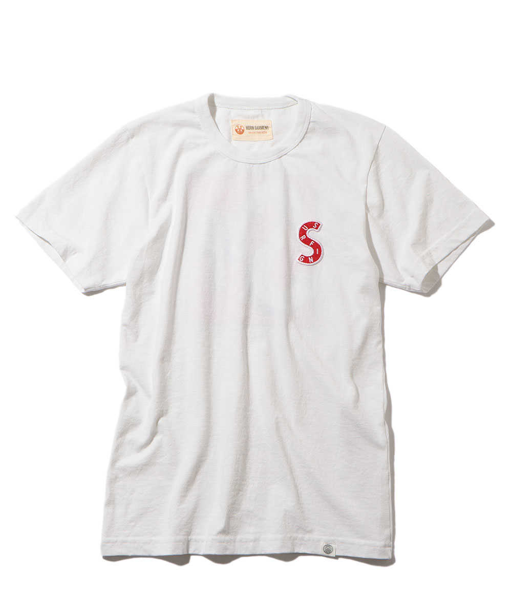"""S.U.P""クルーネックTシャツ"