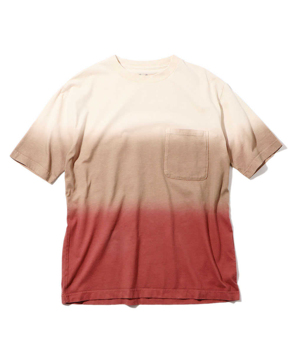グラデーションクルーネックTシャツ
