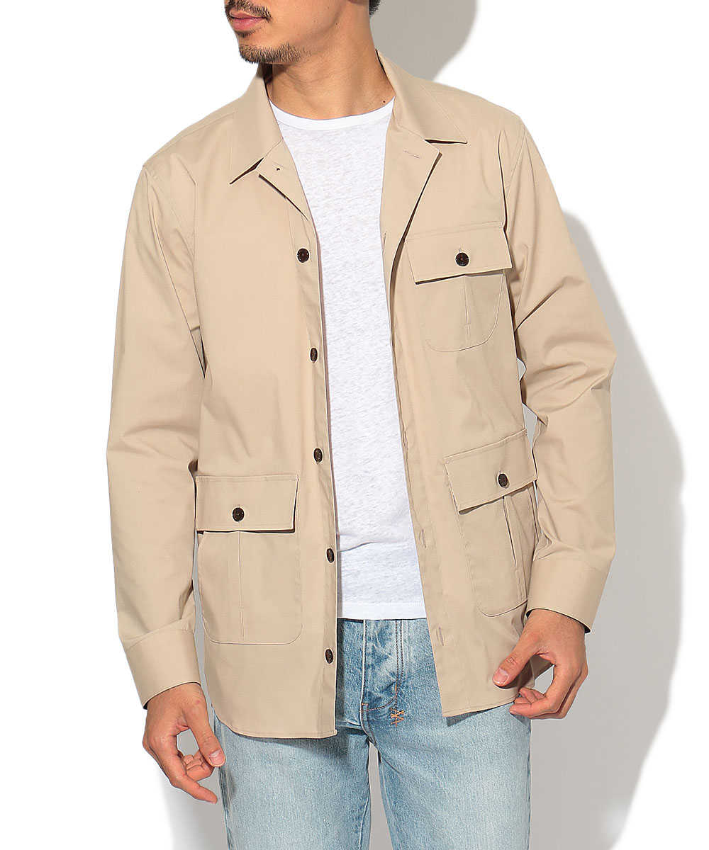スプリングシャツジャケット