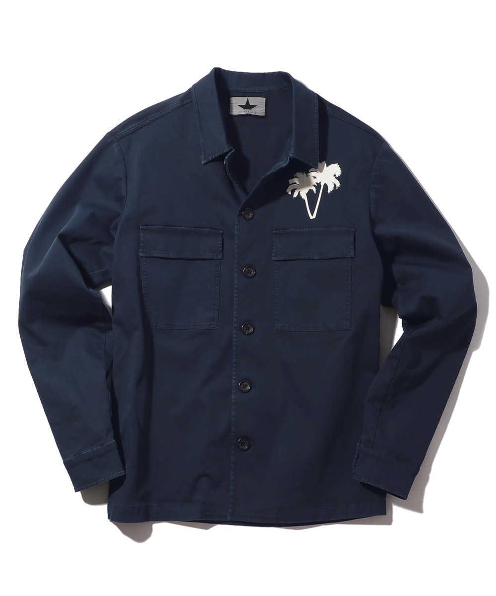 アロハ柄シャツジャケット