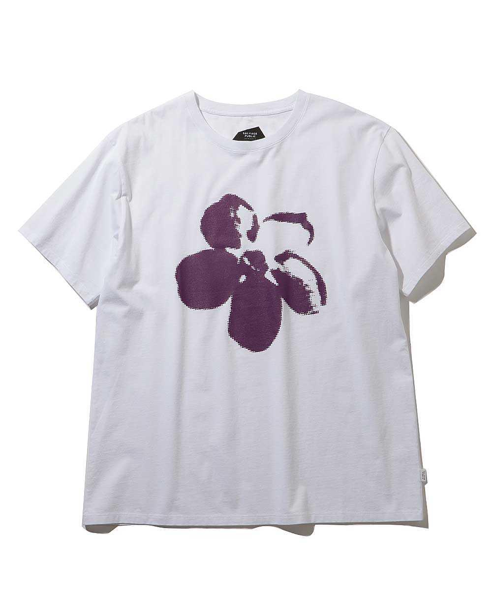 """""""PUA""""クルーネックTシャツ"""