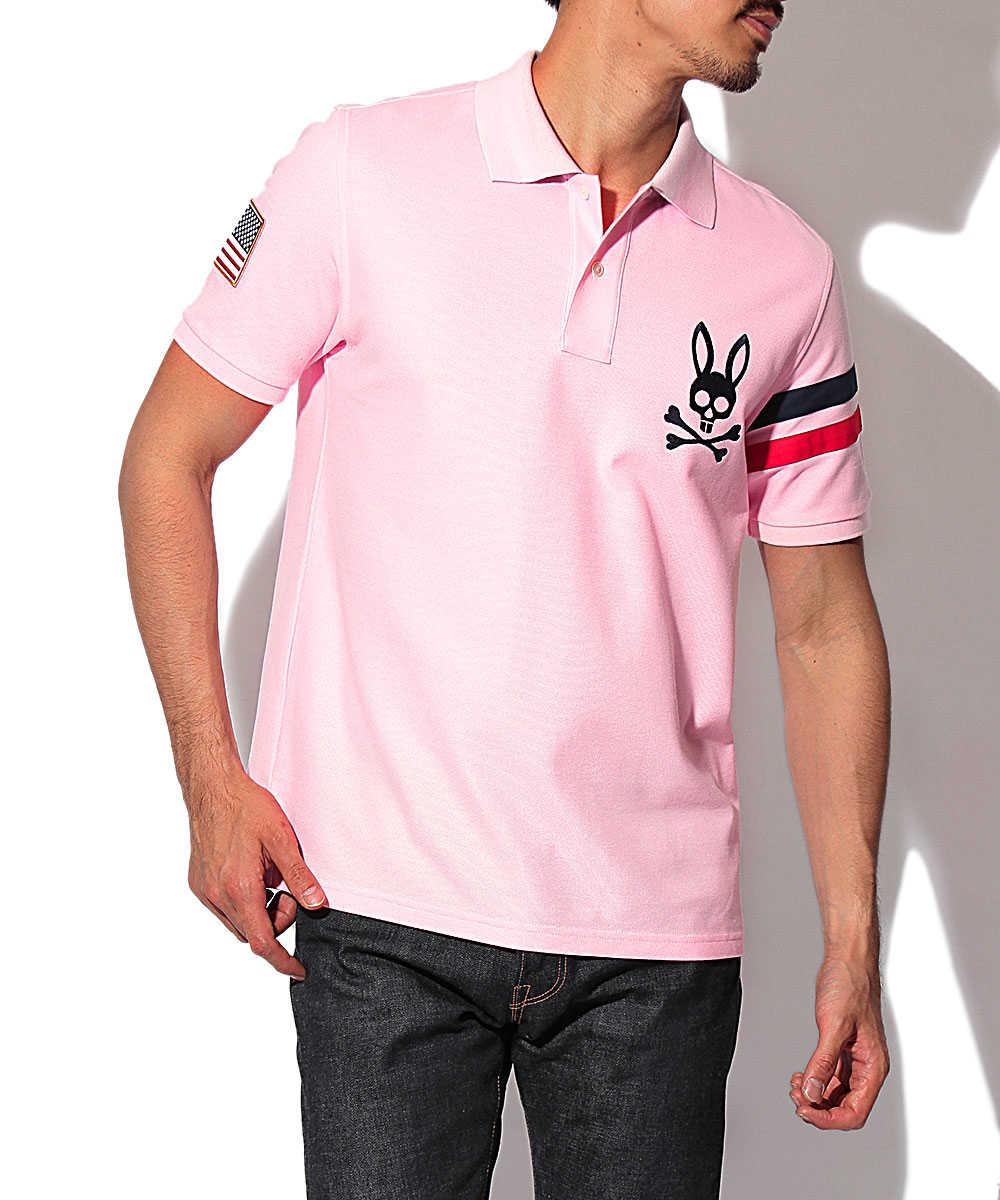 ライン&フラッグポロシャツ