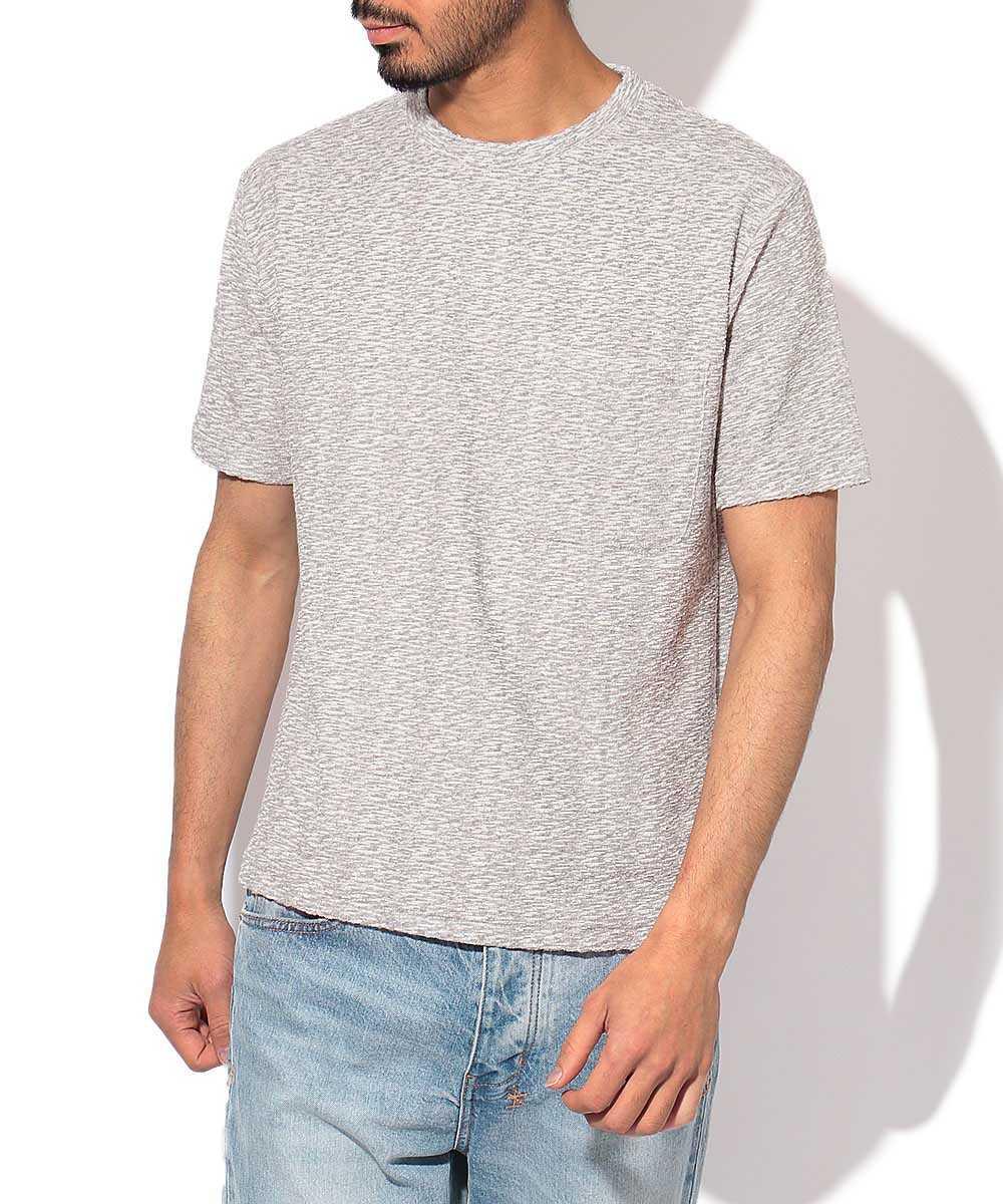 パイルポケットクルーネックTシャツ