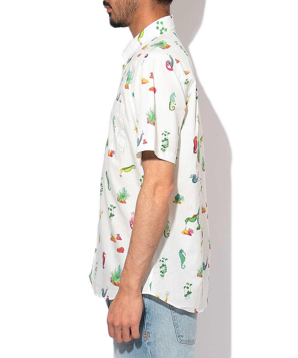 総柄シャツ