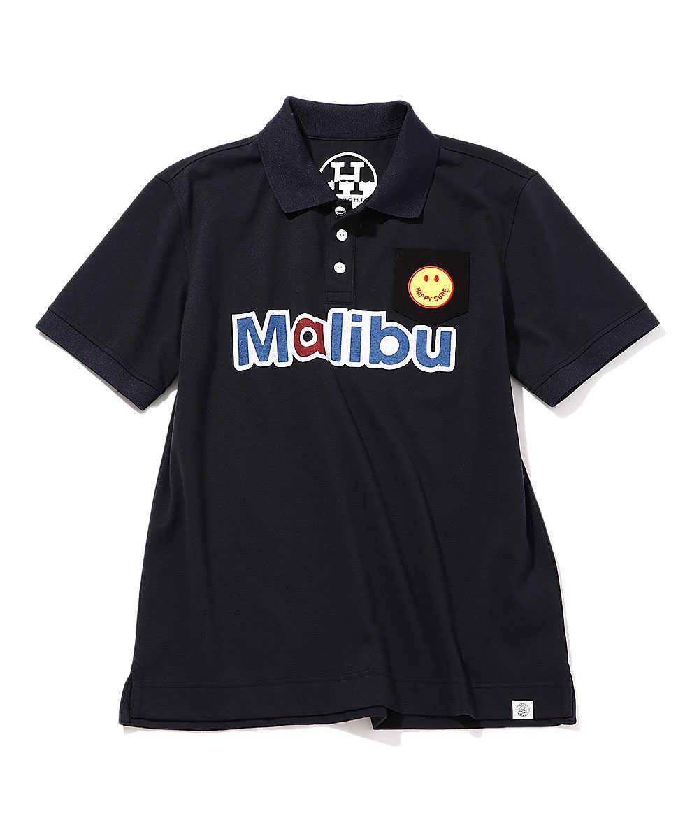 """""""Malibu GS""""ポロシャツ"""