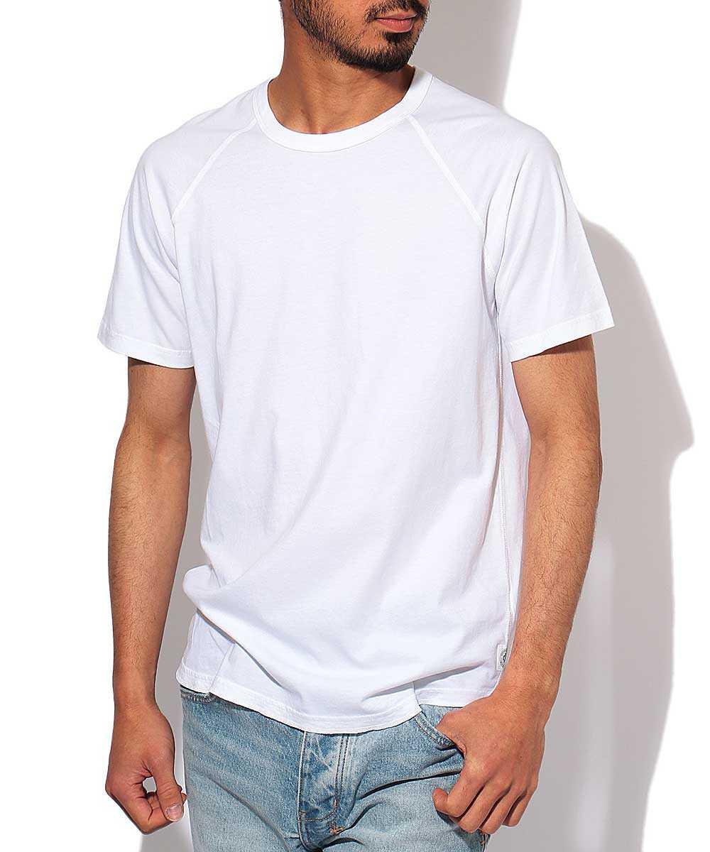 ラグランクルーネックTシャツ