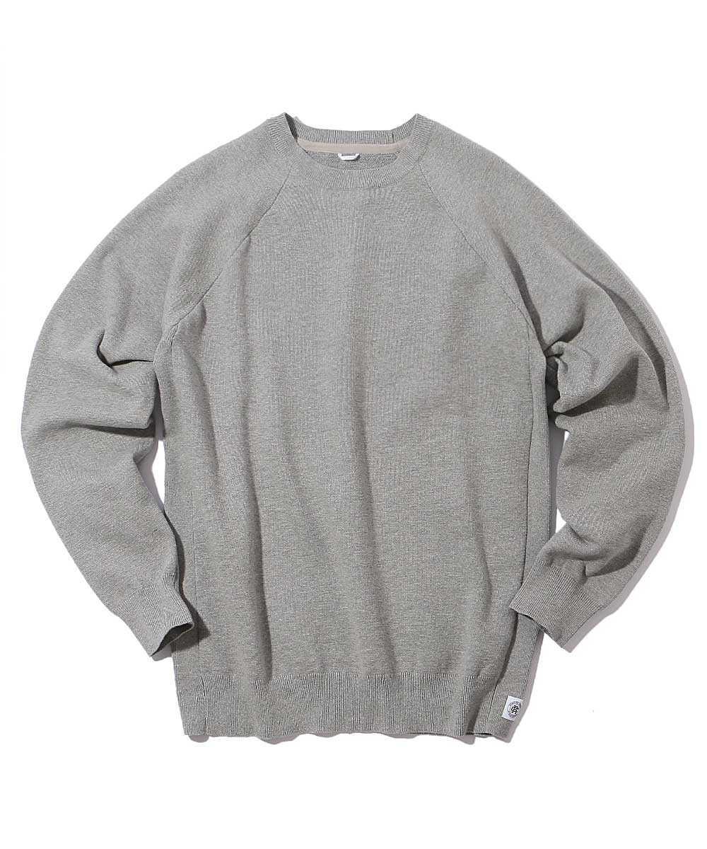 ニットスウェットシャツ