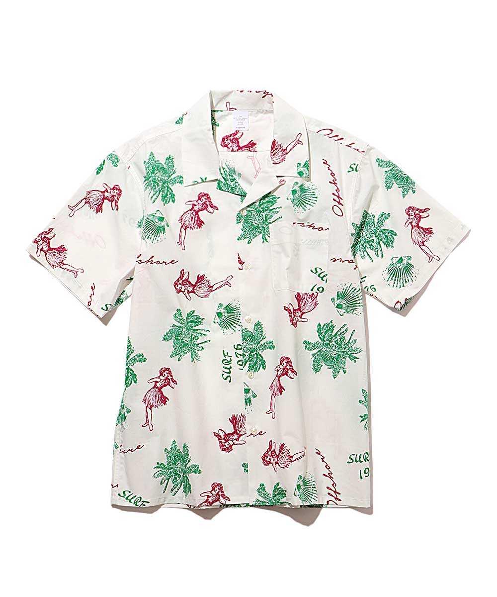 アロハ半袖シャツ