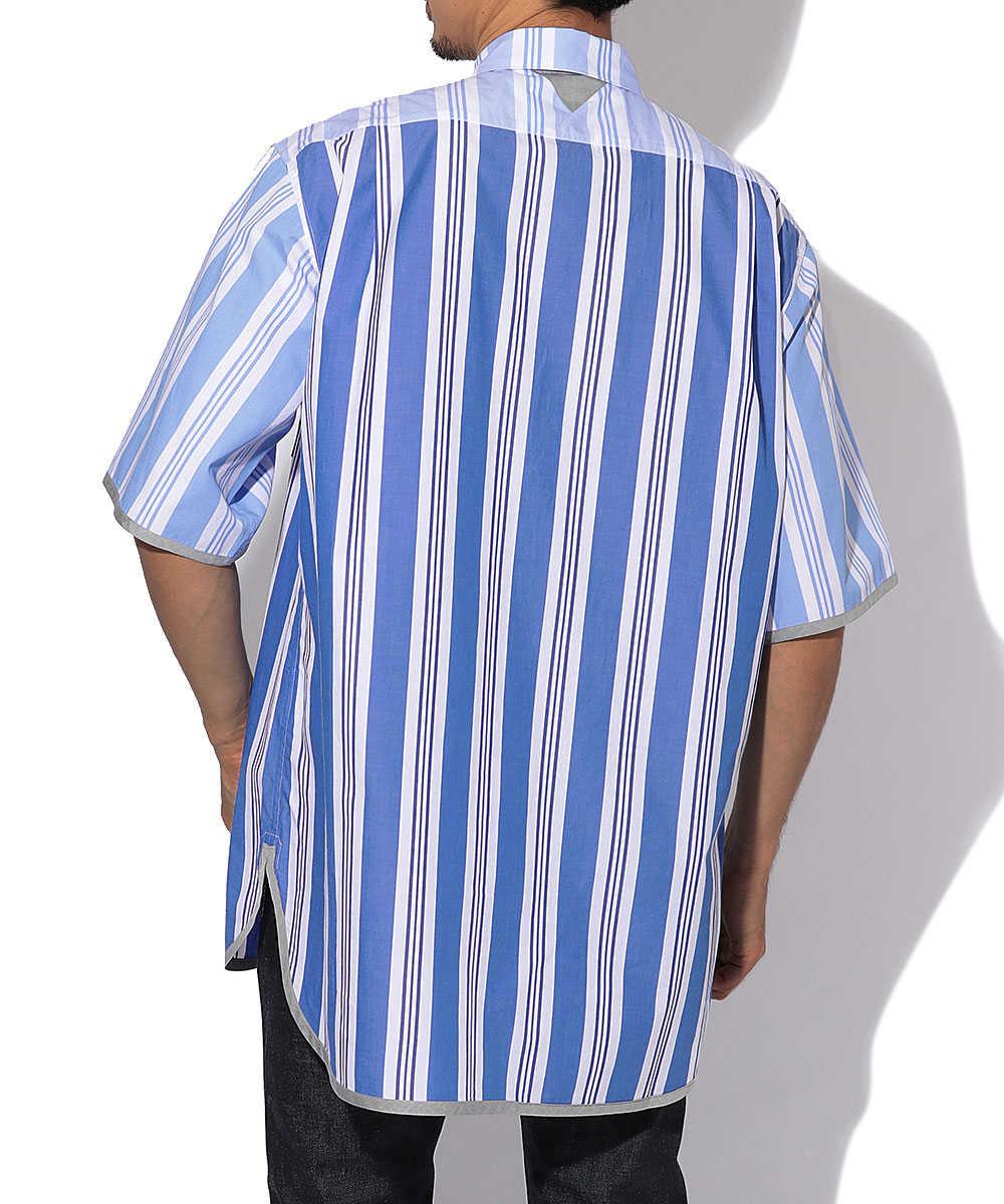 マルチストライプシャツ