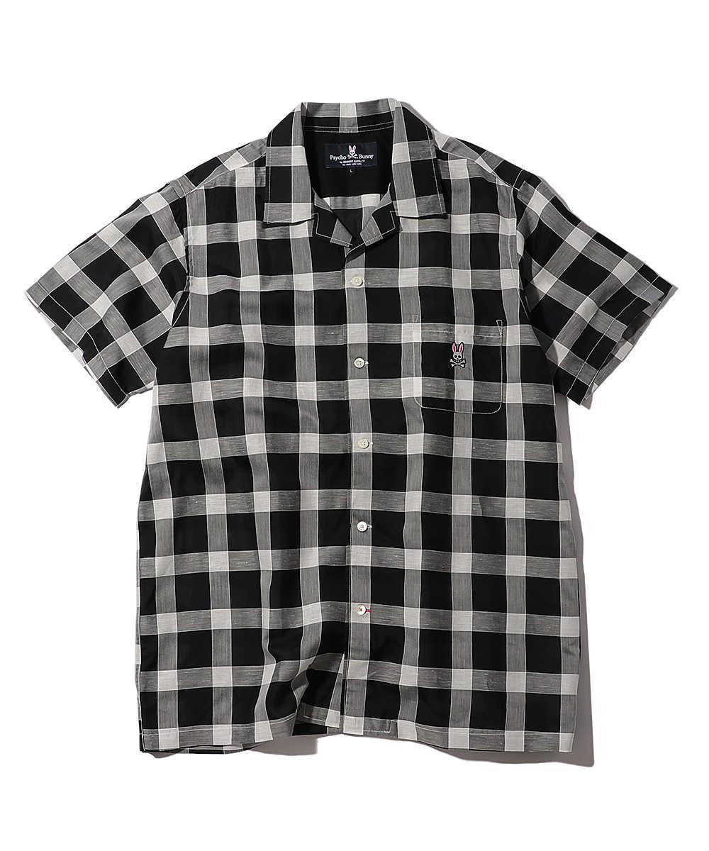 コードチェックシャツ