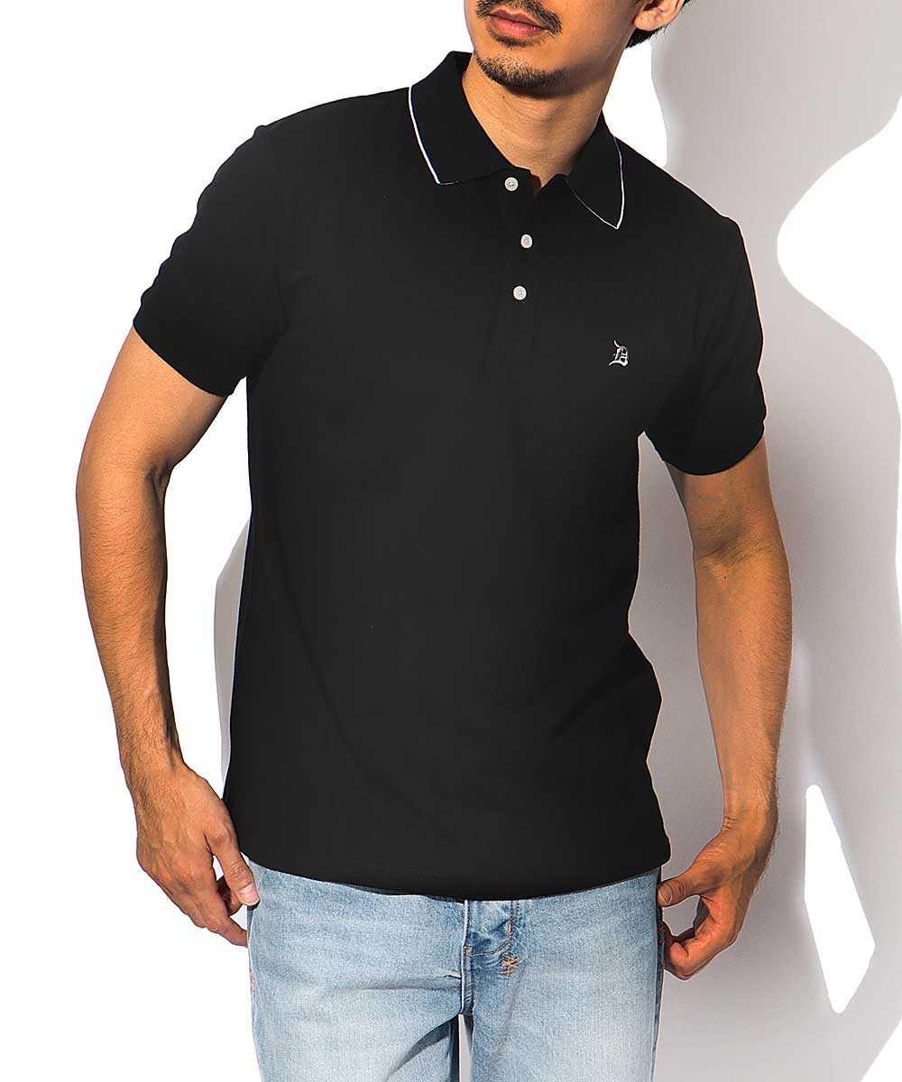 グラデーションカラーポロシャツ