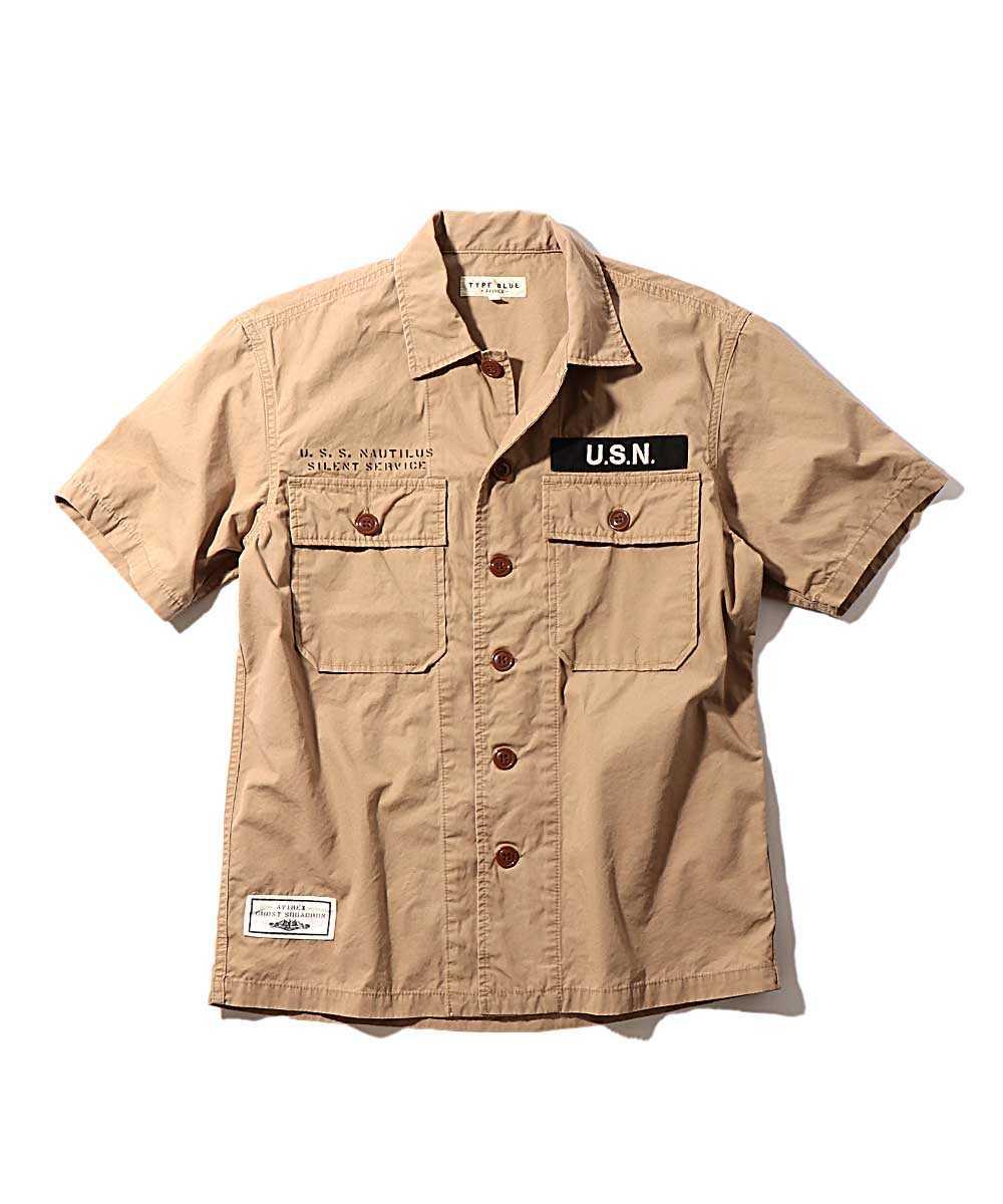 ワーク半袖シャツ