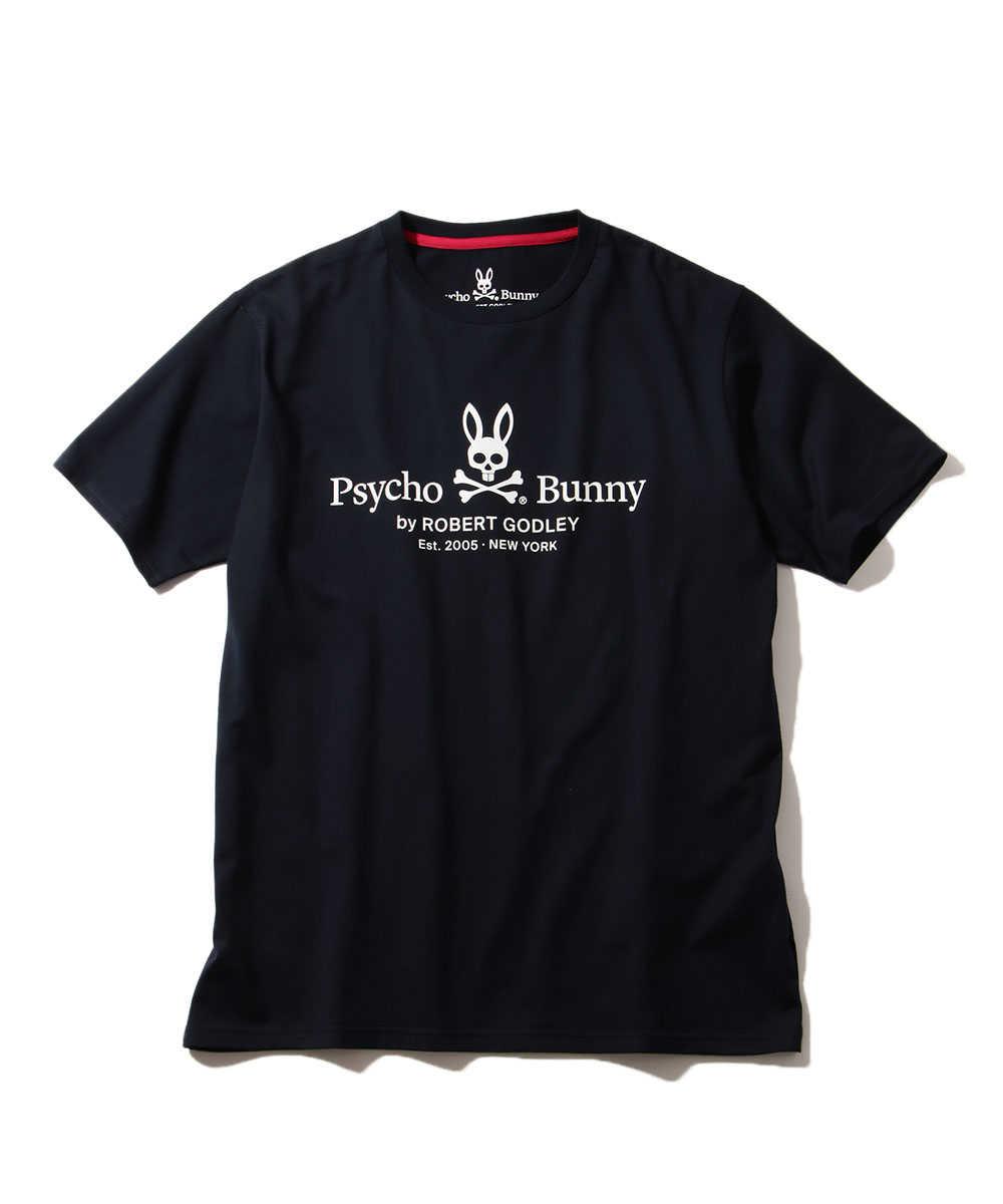 ビッグイヤーロゴプリントクルーネックTシャツ