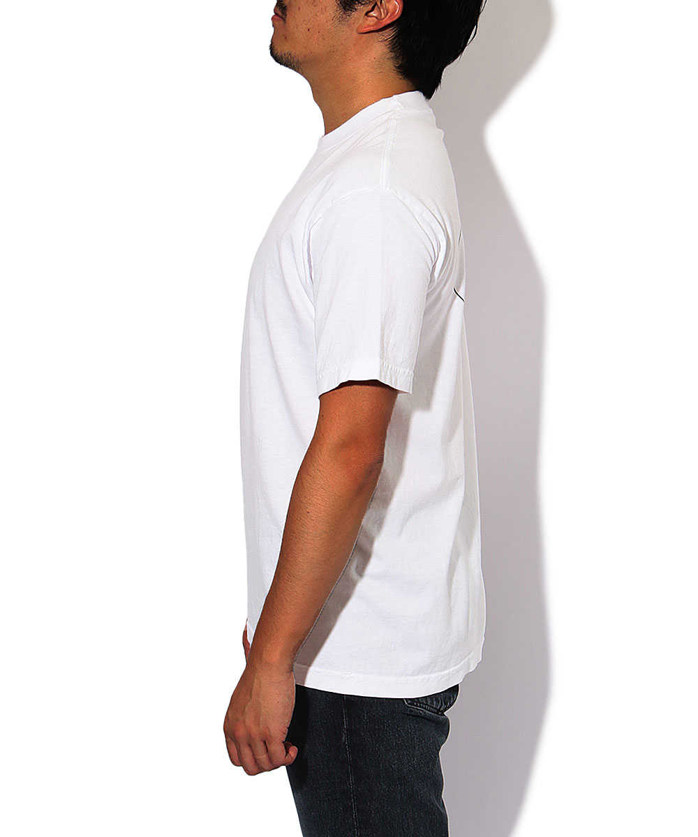 バックプリントクルーネックTシャツ