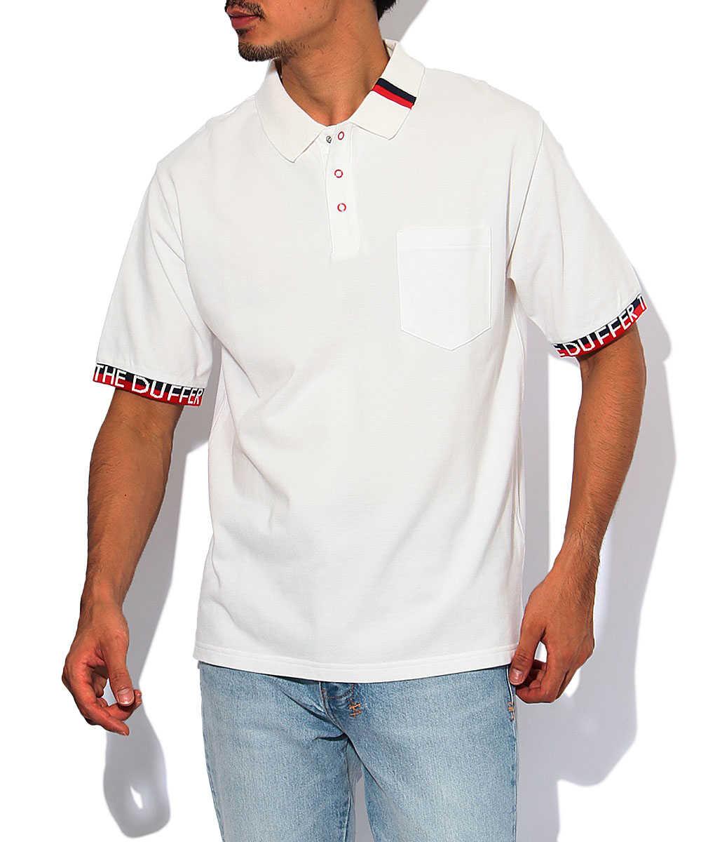 ラインデザインポロシャツ