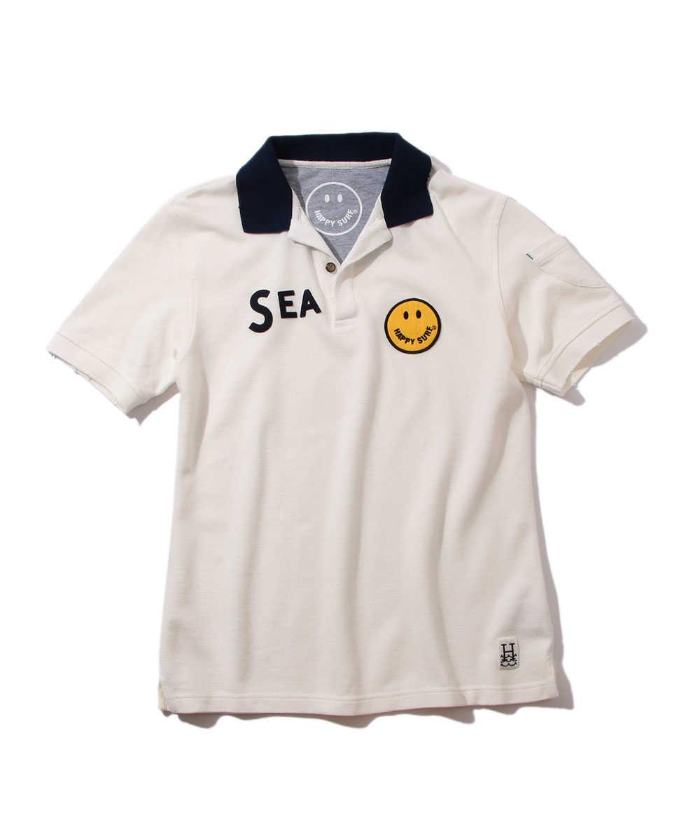 """""""SEA""""ポロシャツ"""