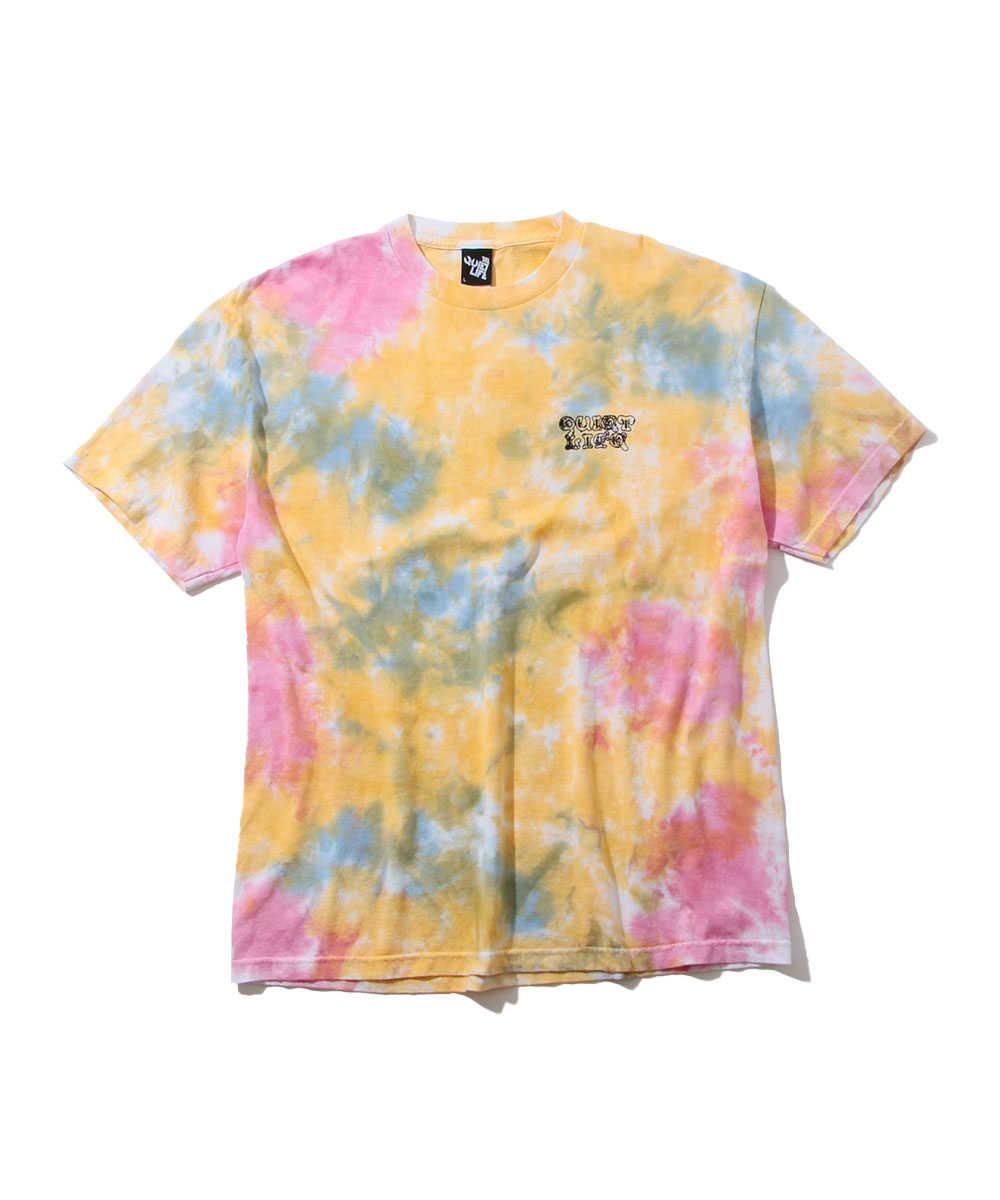 タイダイプリントクルーネックTシャツ