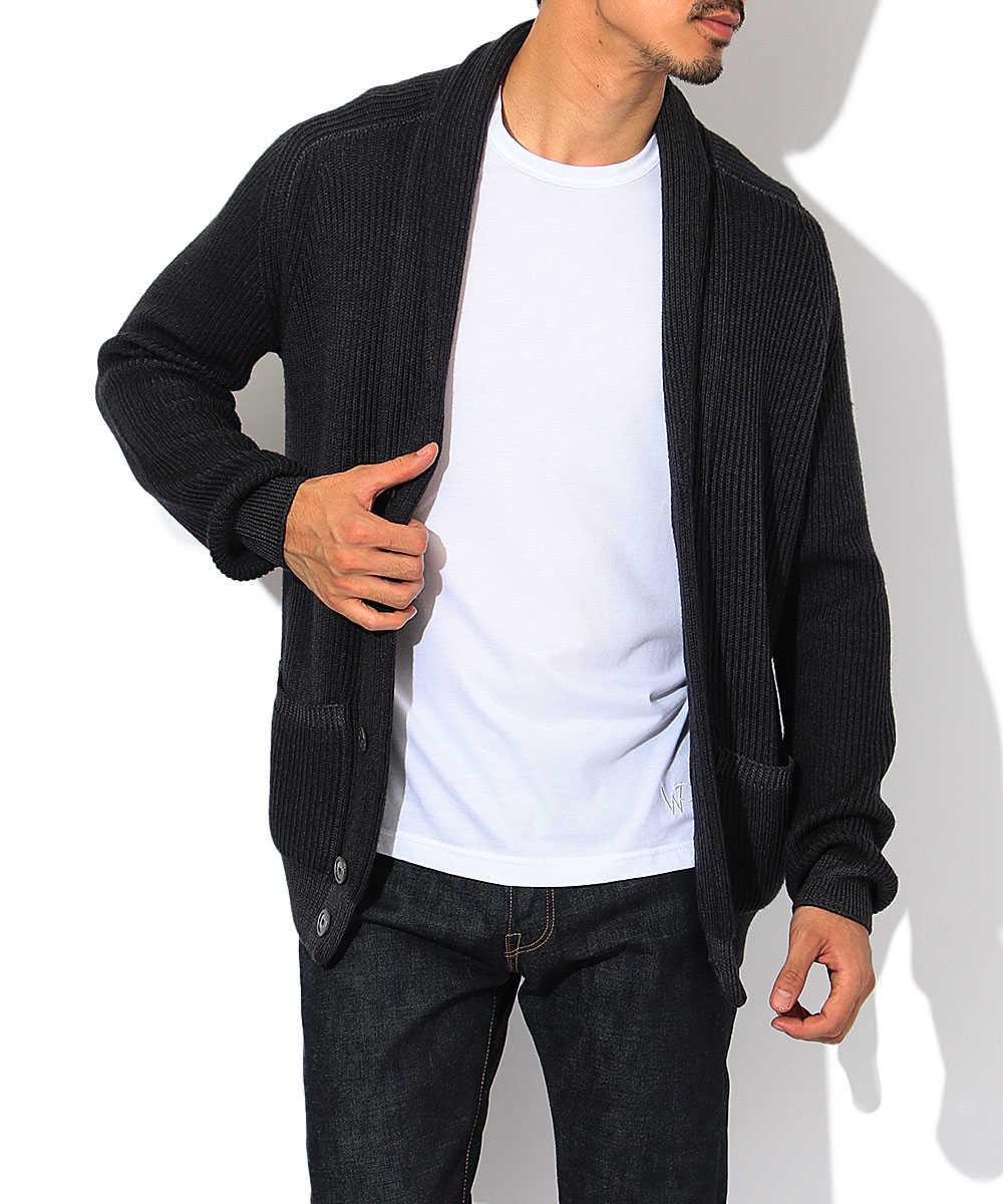 【10月上旬入荷予定】ショールカラーニットジャケット