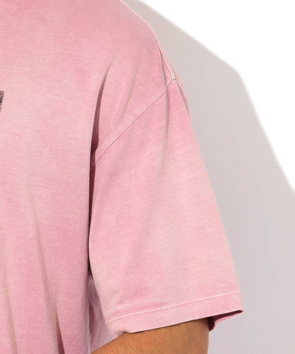 プリントロゴクルーネックTシャツ