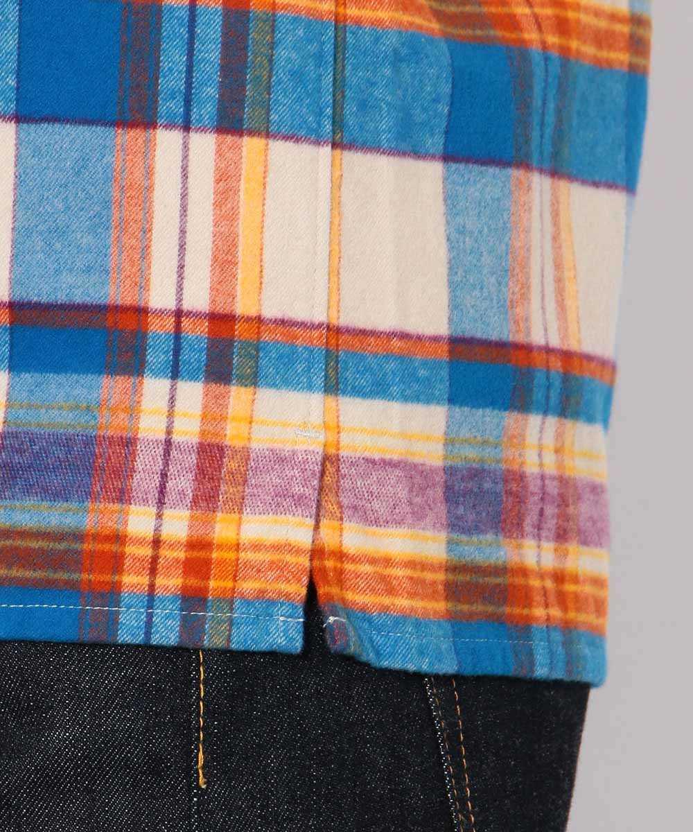 【別注・限定商品】オープンカラーフランネルシャツ