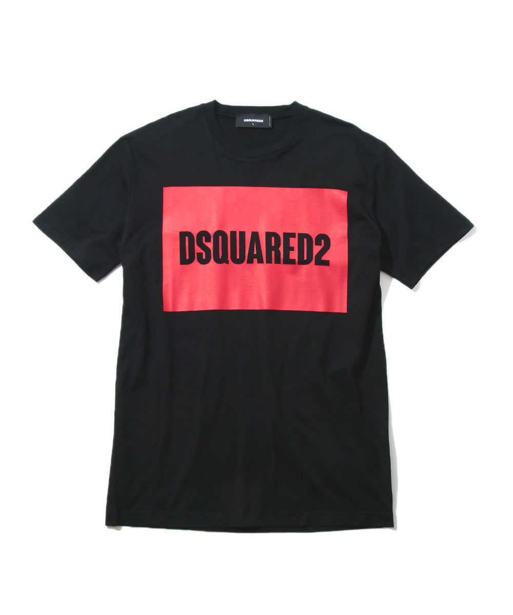 """DSQUARED2""プリントクルーネックTシャツ"