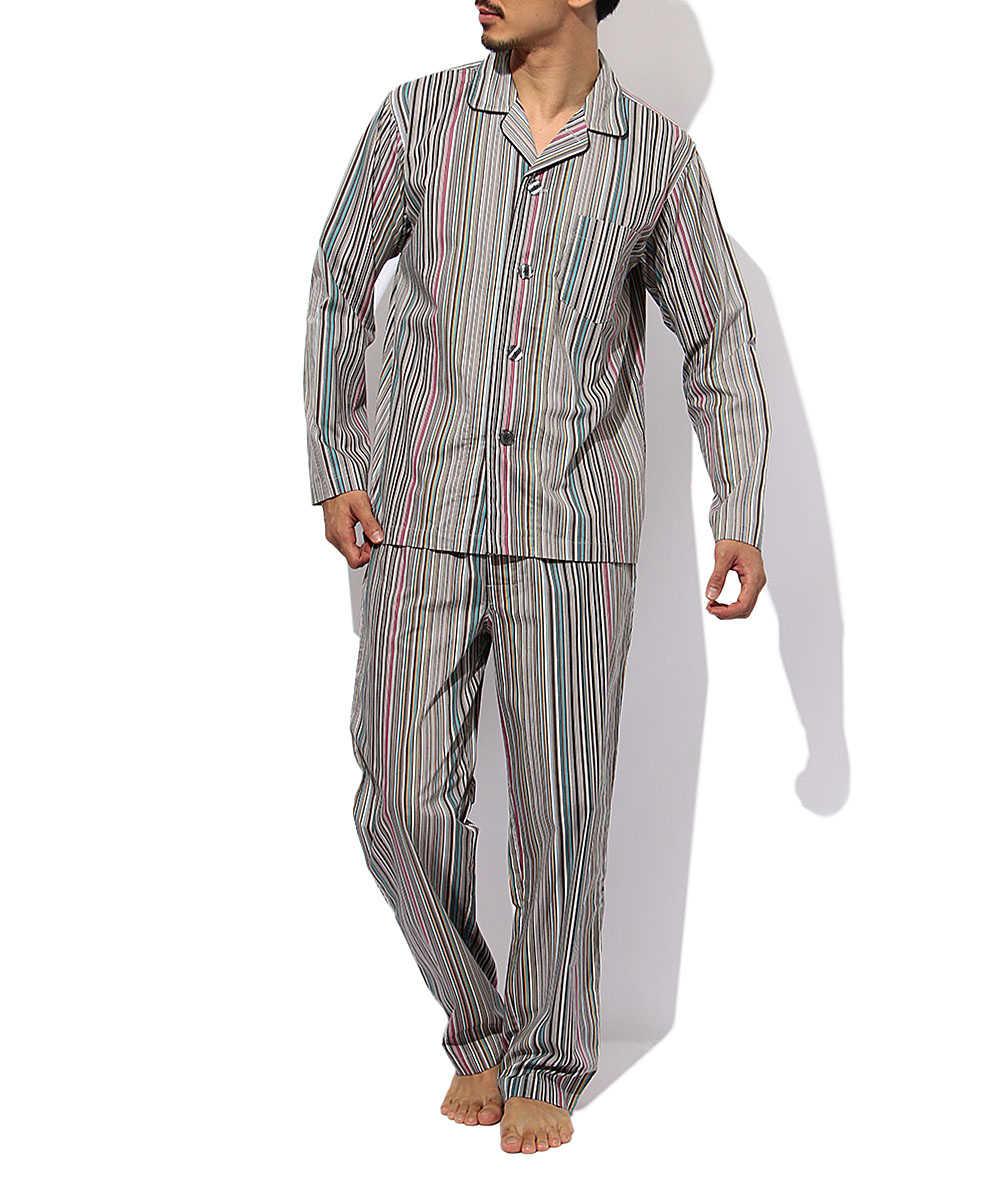 ストライプパジャマ