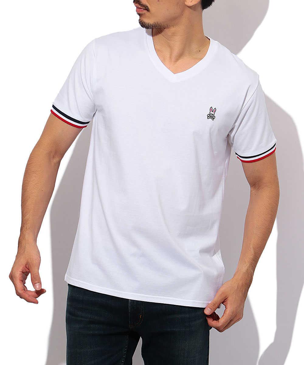トリコリブ VネックTシャツ