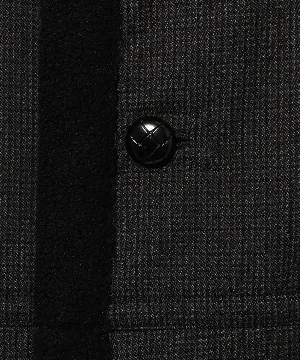 【限定商品】リバーシブルムートンステンカラーコート