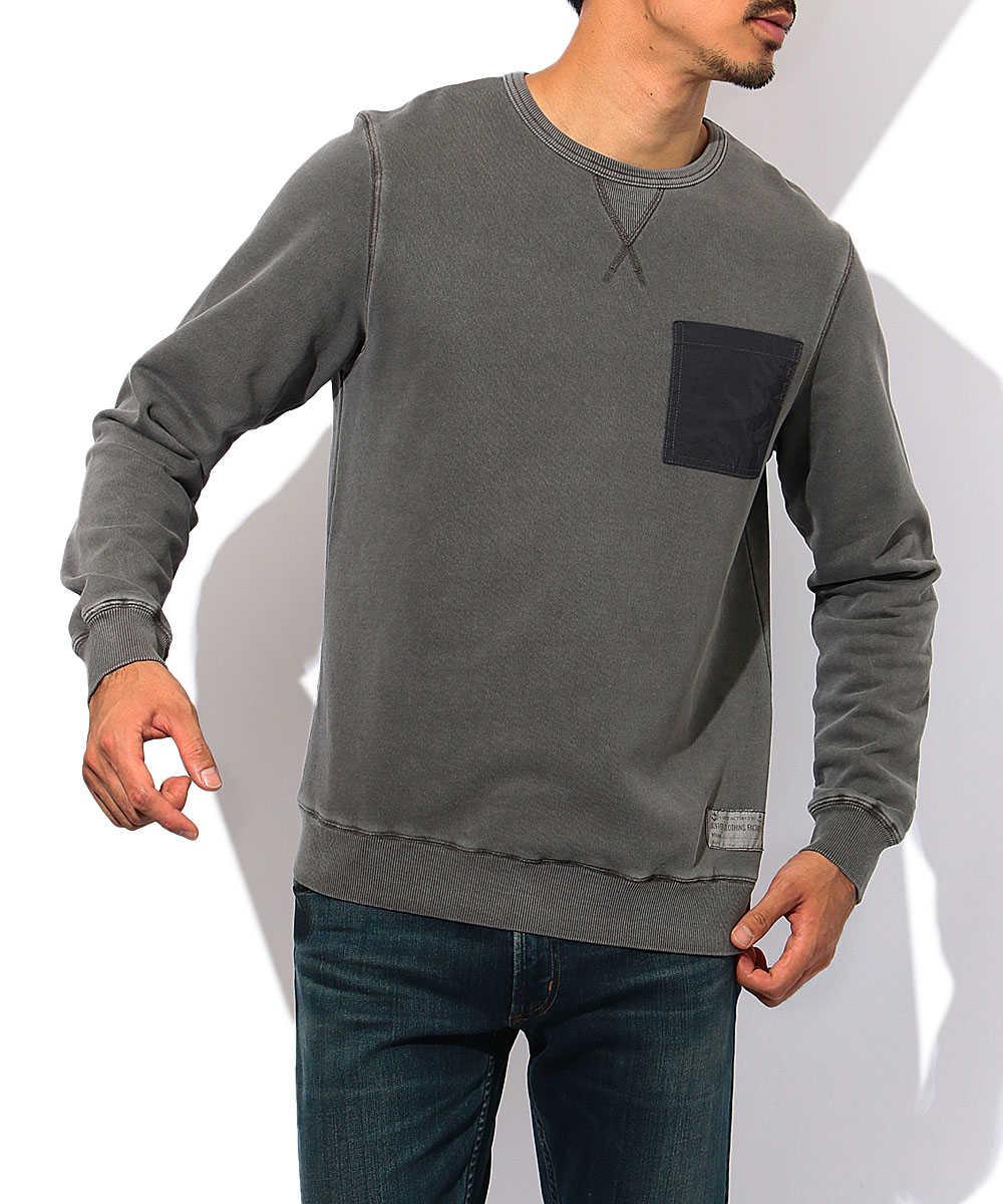 ピグメントスウェットシャツ