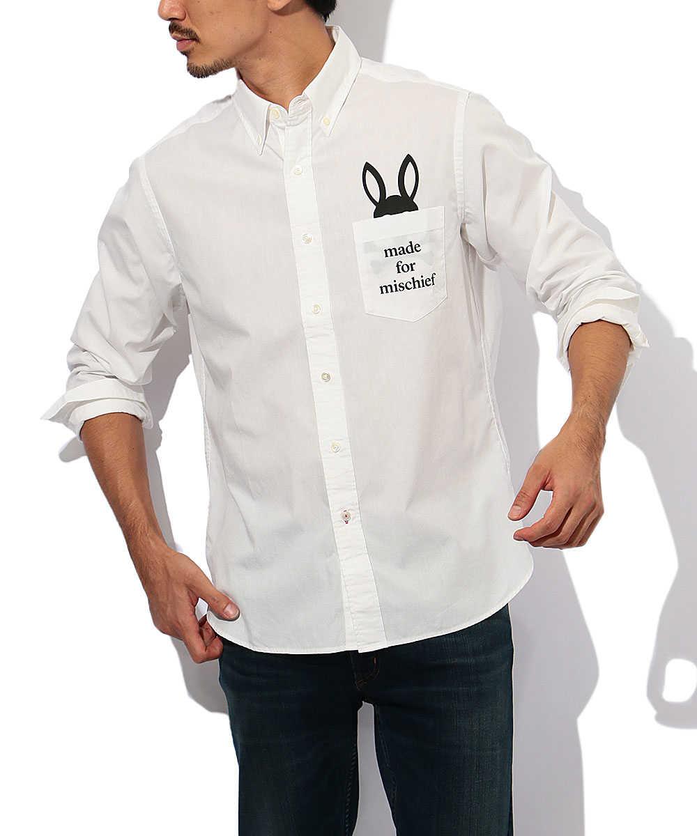 ポケットバニーシャツ