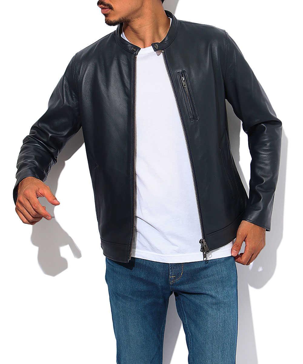 シングルレザージャケット