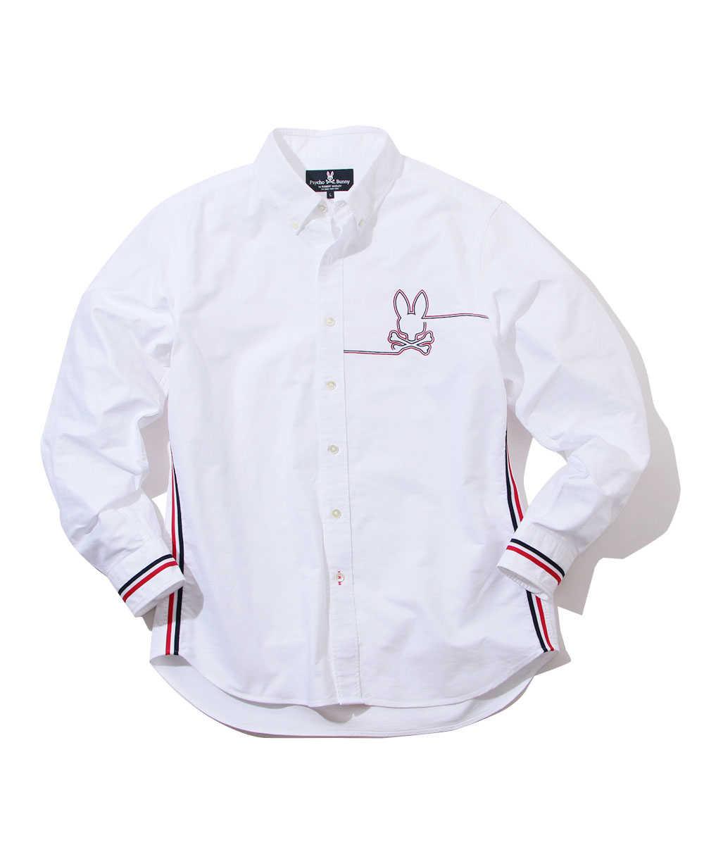 トリコラインオックスシャツ