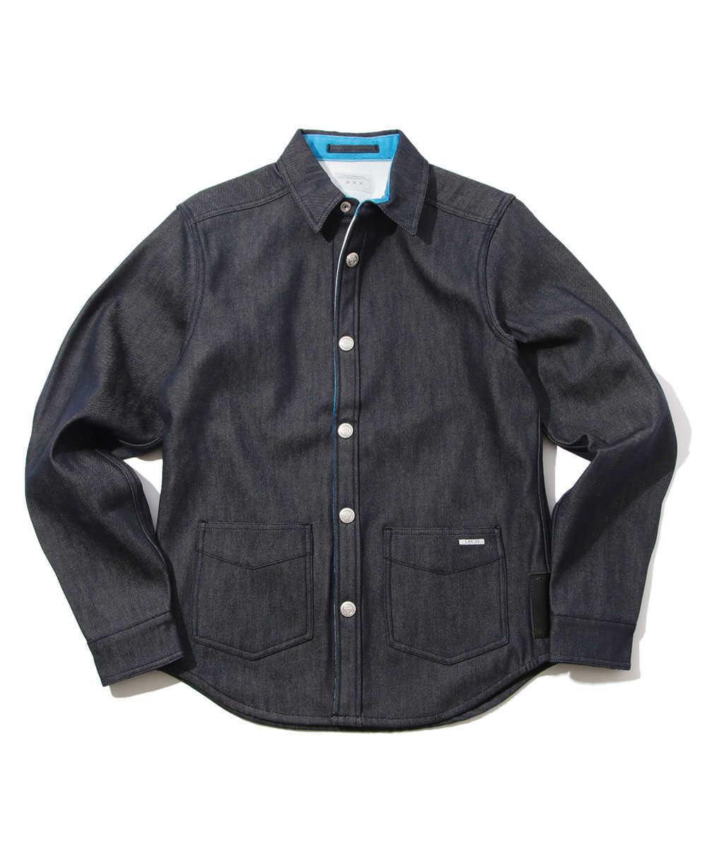 リバーシブルシャツジャケット