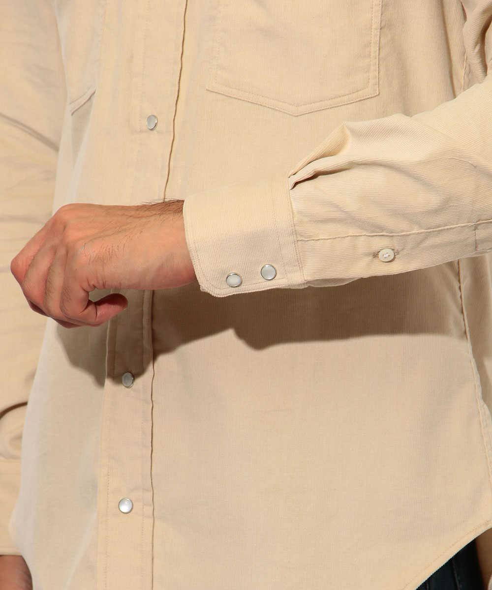 【別注・限定商品】コーデュロイウエスタンシャツ