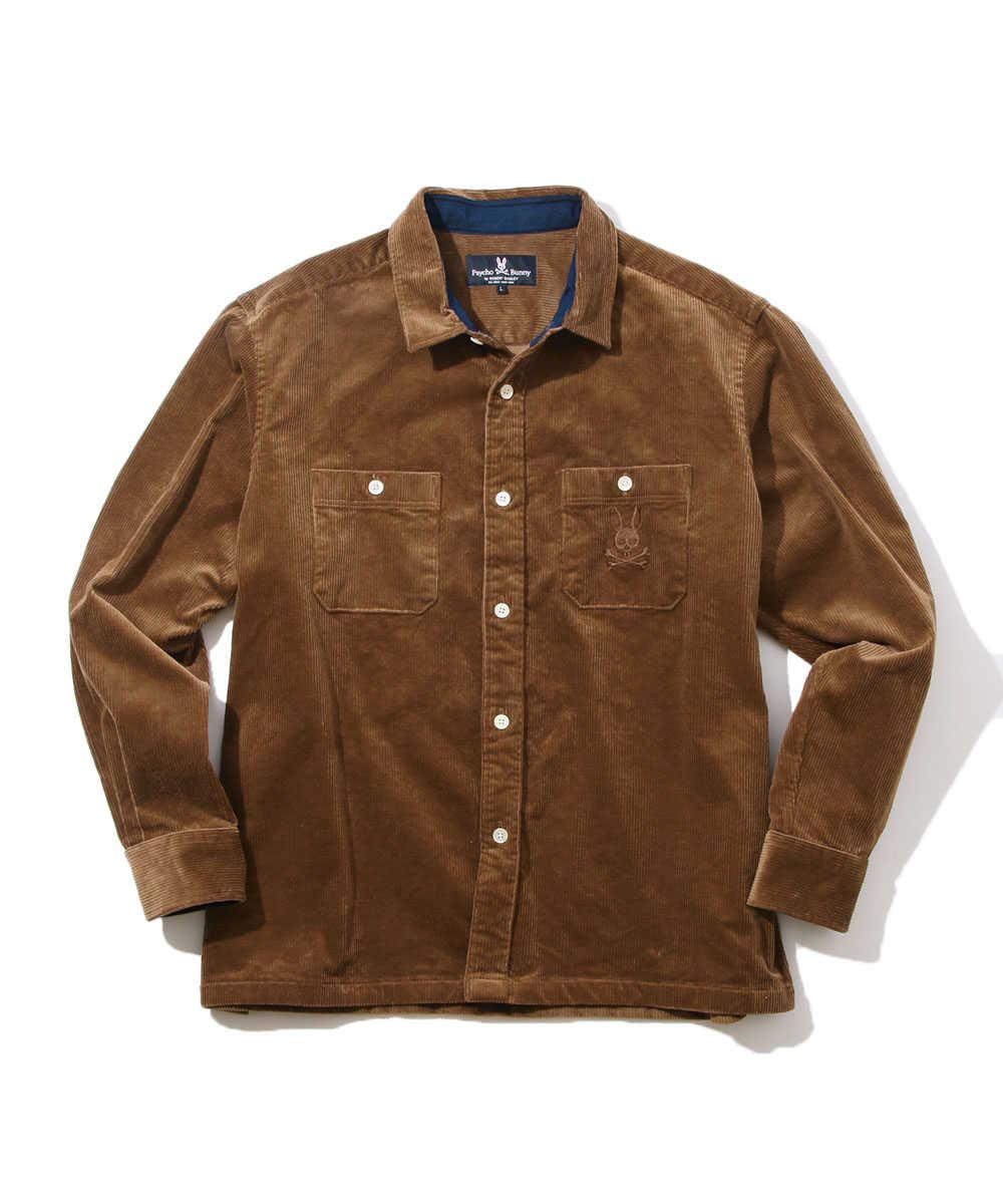 ストレッチコード シャツジャケット