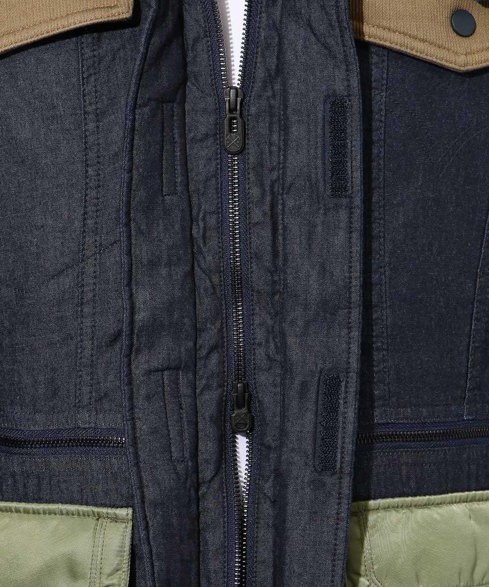 ホワイトマウンテニアリング×リーバイス メイド&クラフテッド パディドジャケット