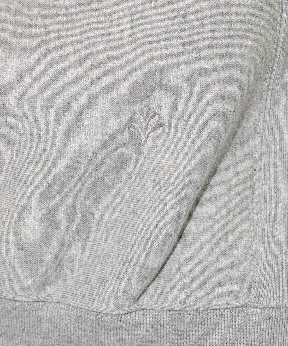 プリントクルーネックスウェットシャツ