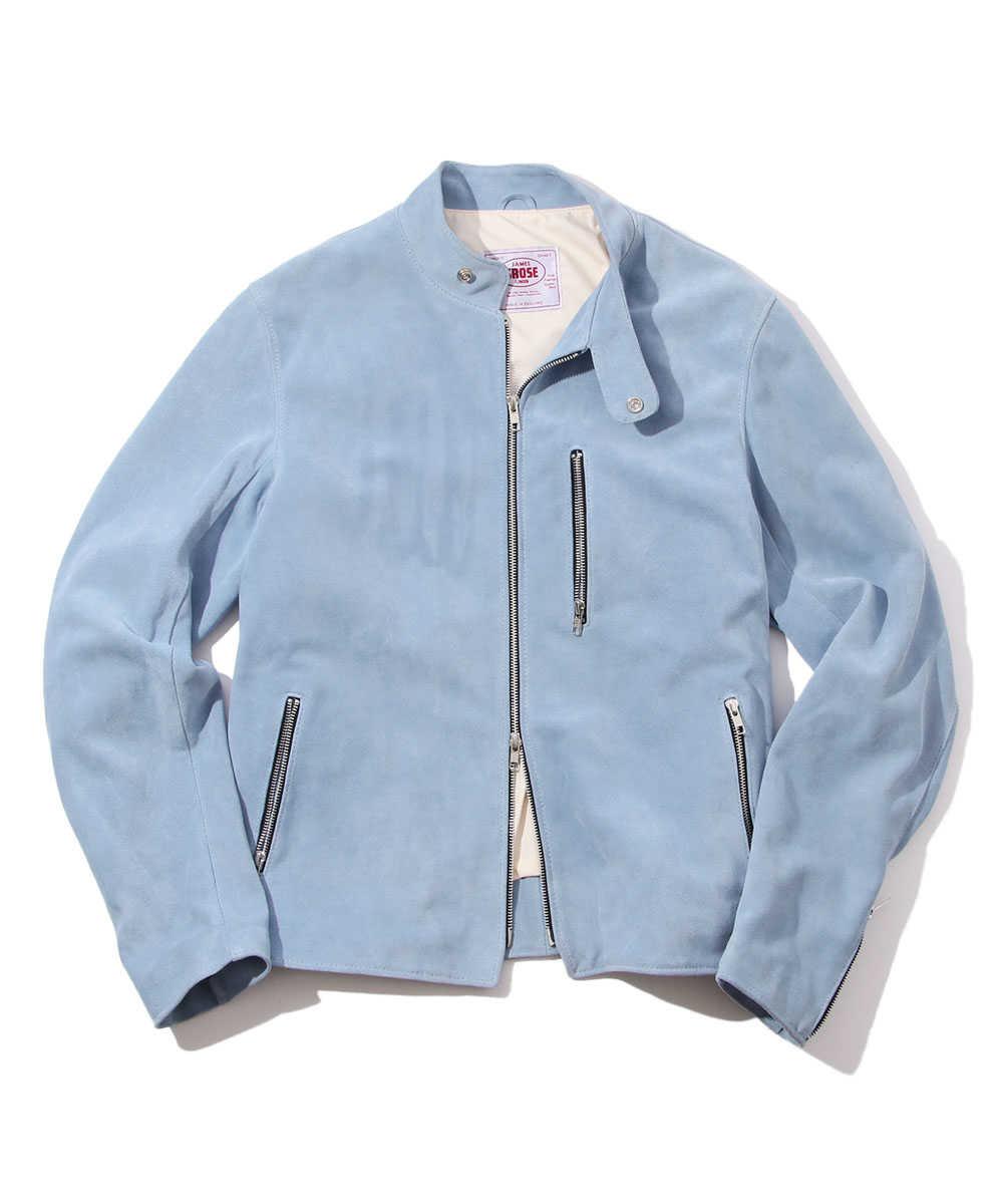 【10月中旬入荷予定別注・限定商品】スウェードレザージャケット