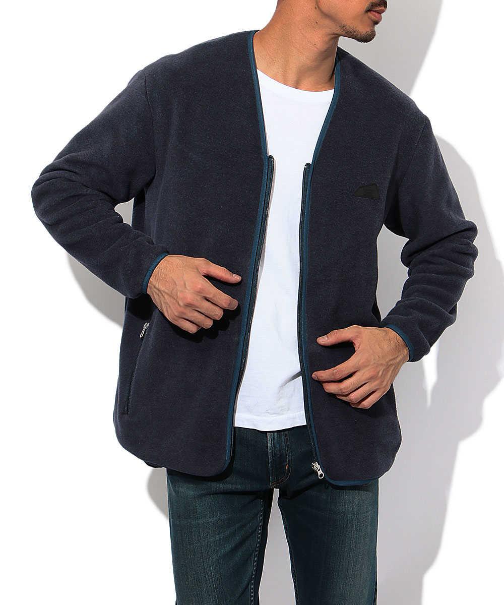【別注・限定商品】ラバーロゴフリースジャケット