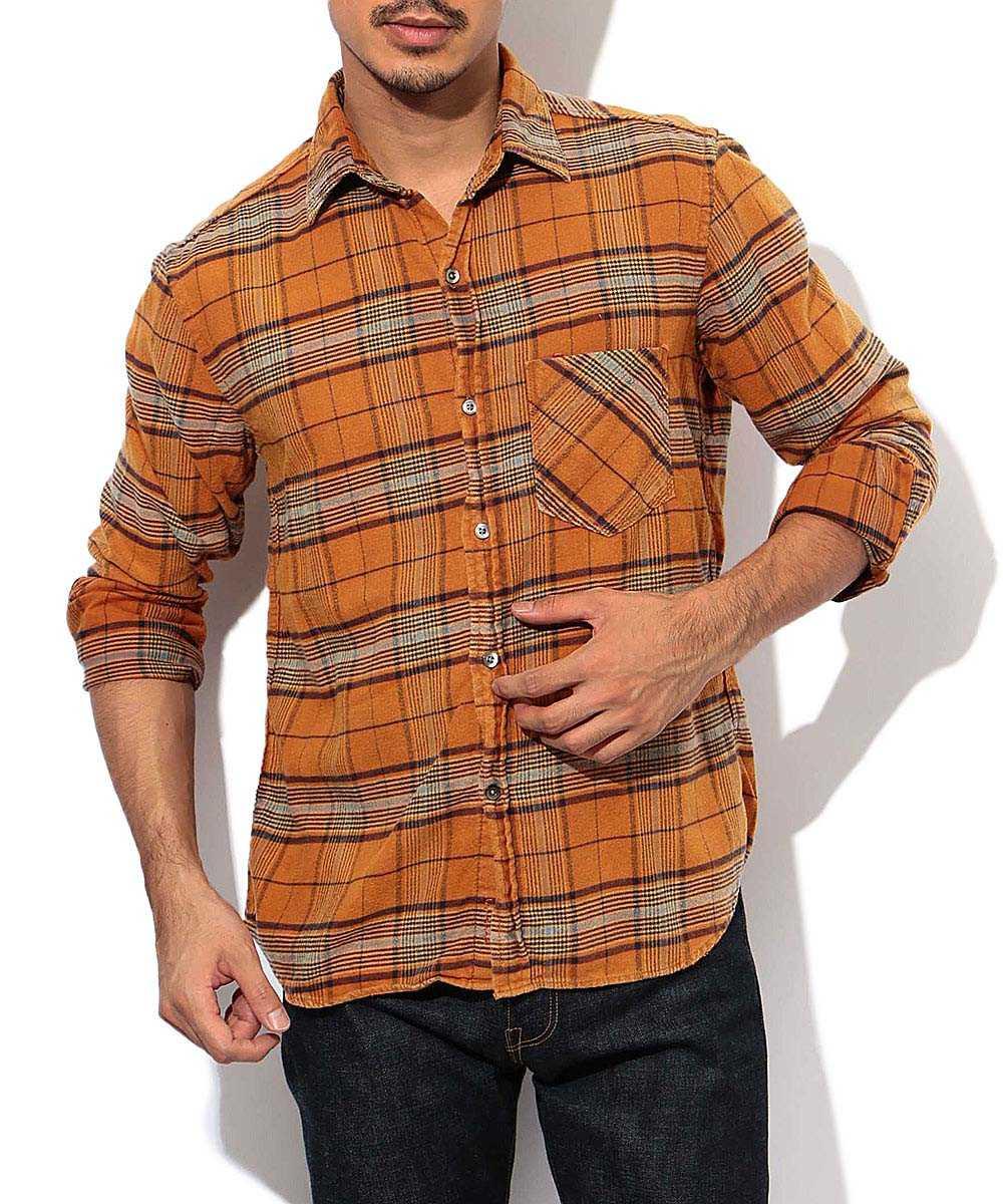スタンダードチェックシャツ