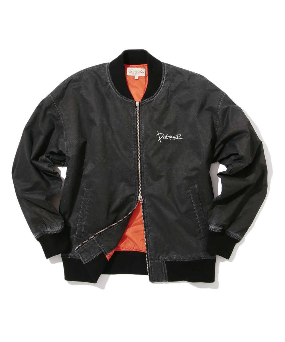 ピグメントMA-1ジャケット