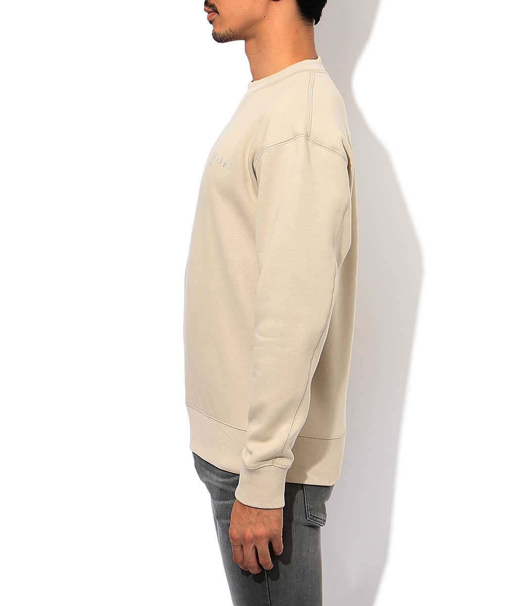 刺繍スウェットシャツ