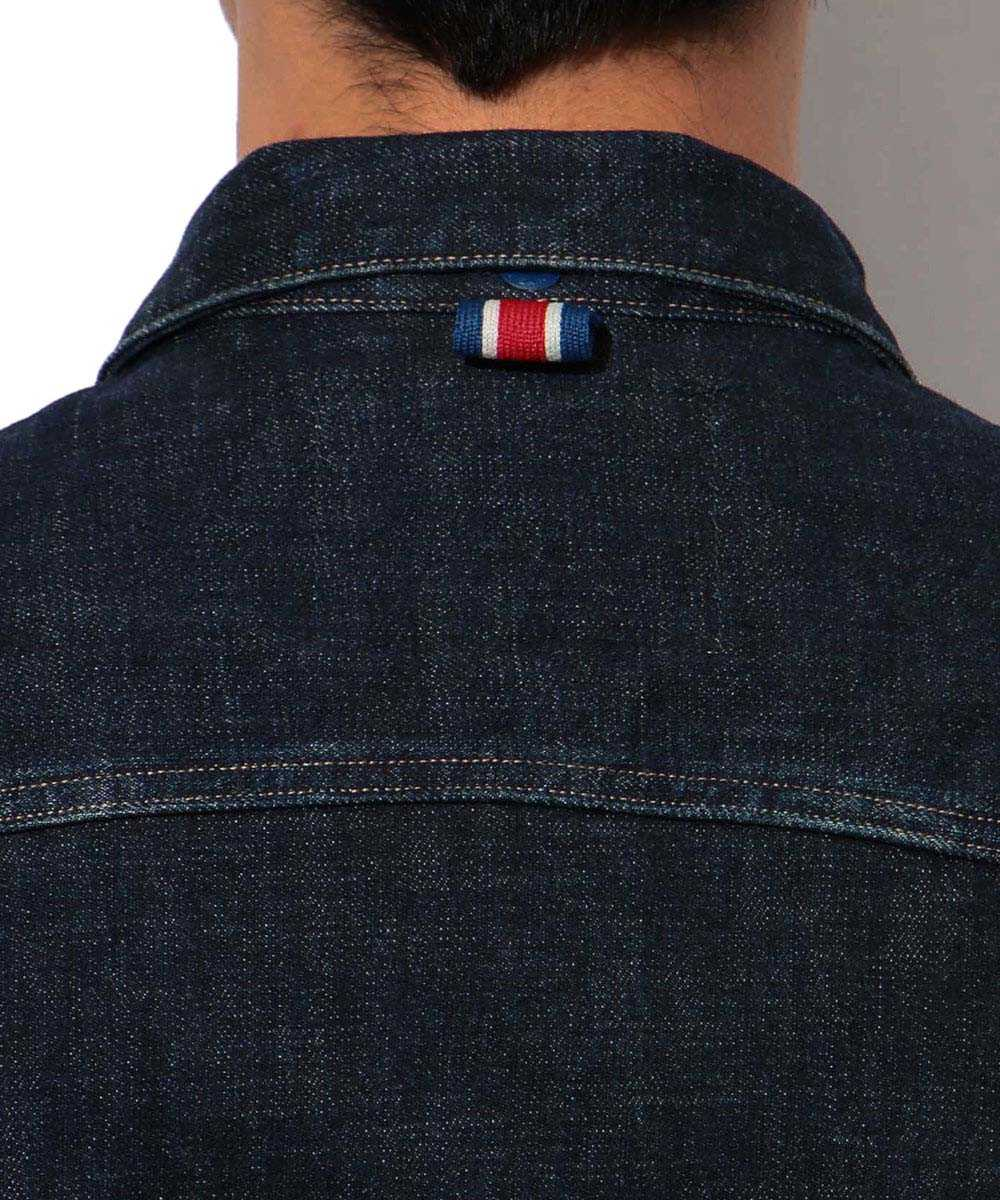 パリ・サンジェルマン×リプレイ インディゴデニムジャケット