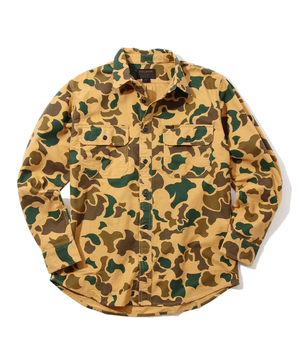 フィールドフランネルシャツ
