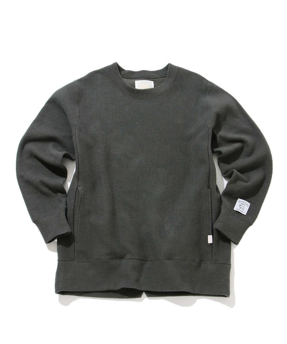 北海道ウール スウェットシャツ