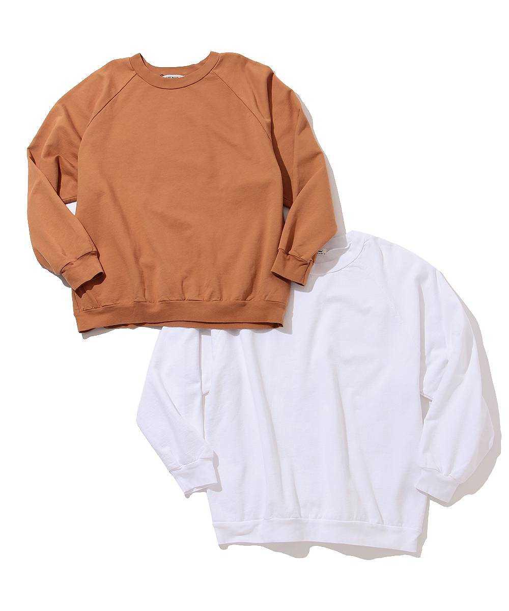 2パックオーガニックコットンスウェットシャツ