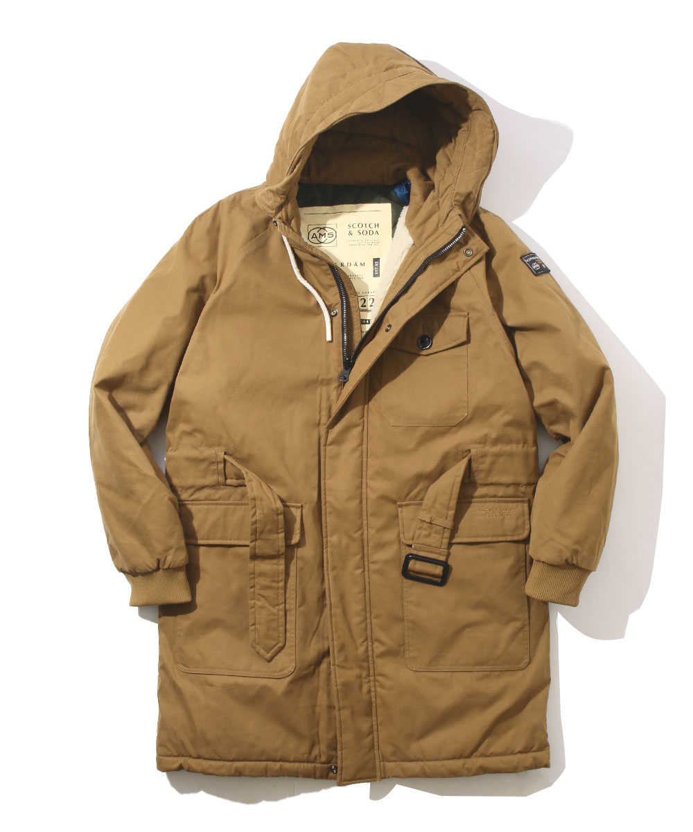 リバーシブルロングジャケット