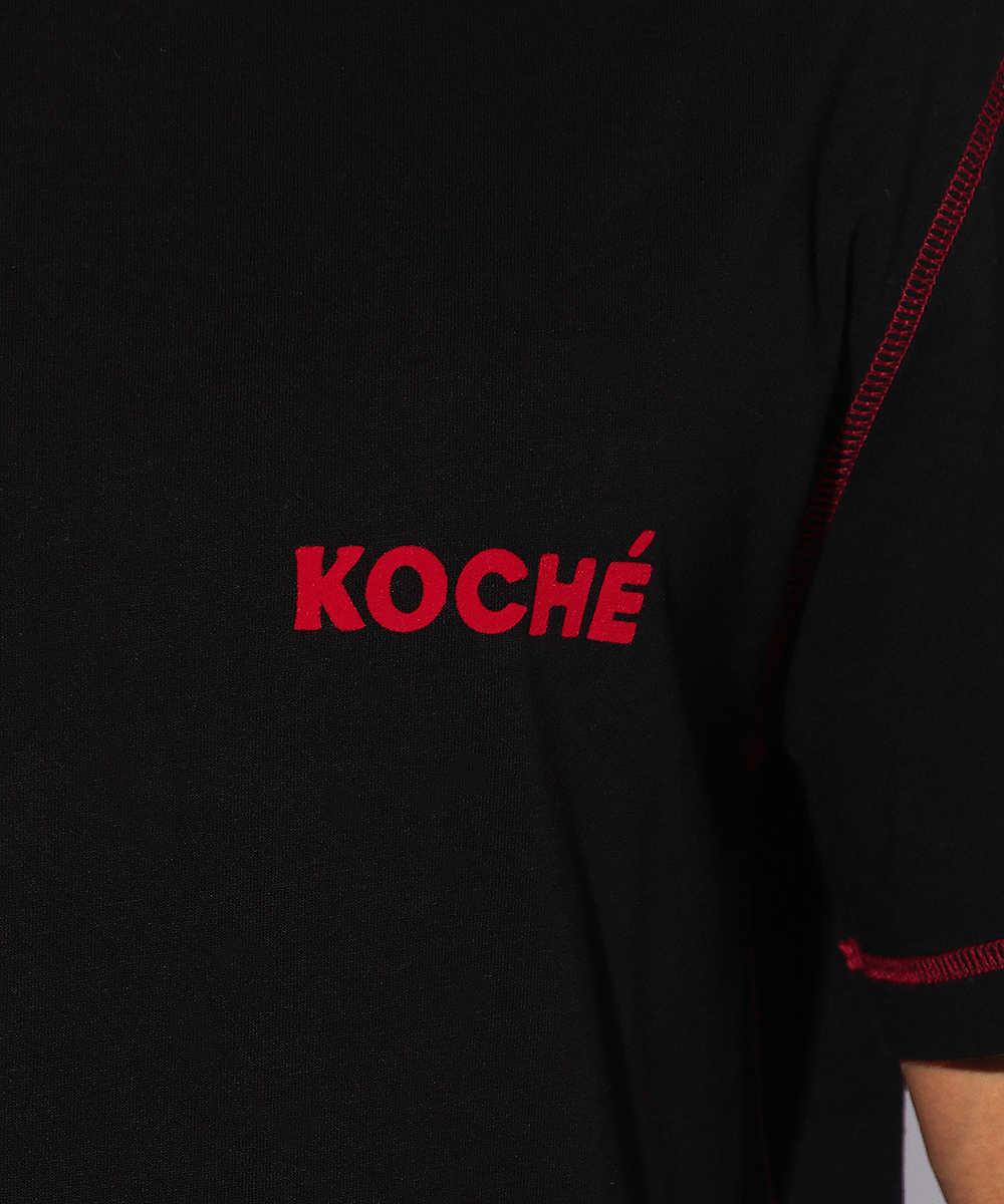 フロッキーロゴクルーネックTシャツ
